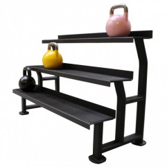 Kettlebell rack 3 hylder/shelves from KettlebellShop®